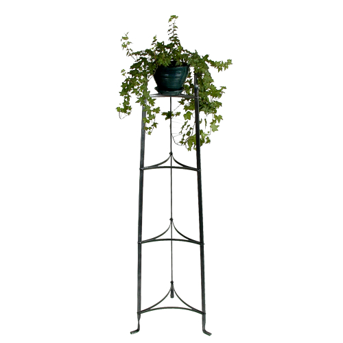 Enclume Hammered Steel 4 Tier Plant Storage Stand