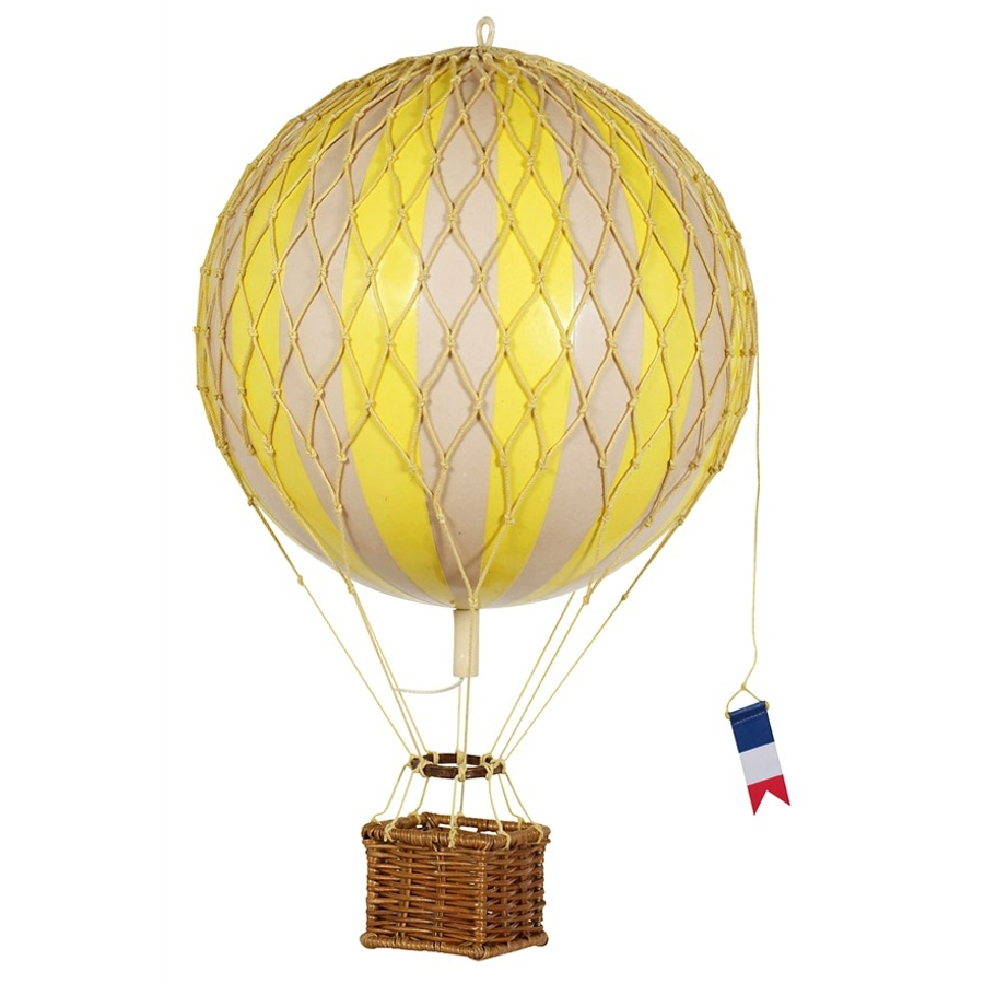 Authentic Models Royal Aero Balloons in True Yellow