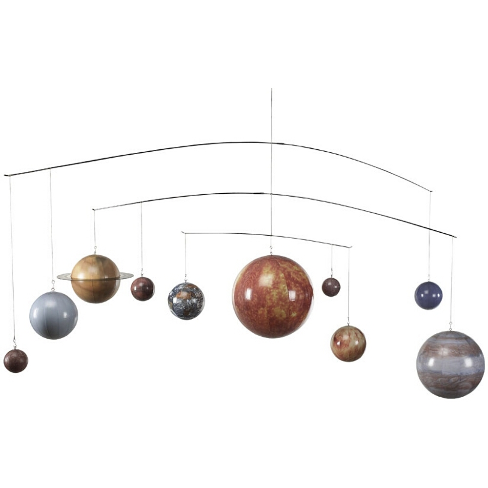 Authentic Models Solar System Mobile