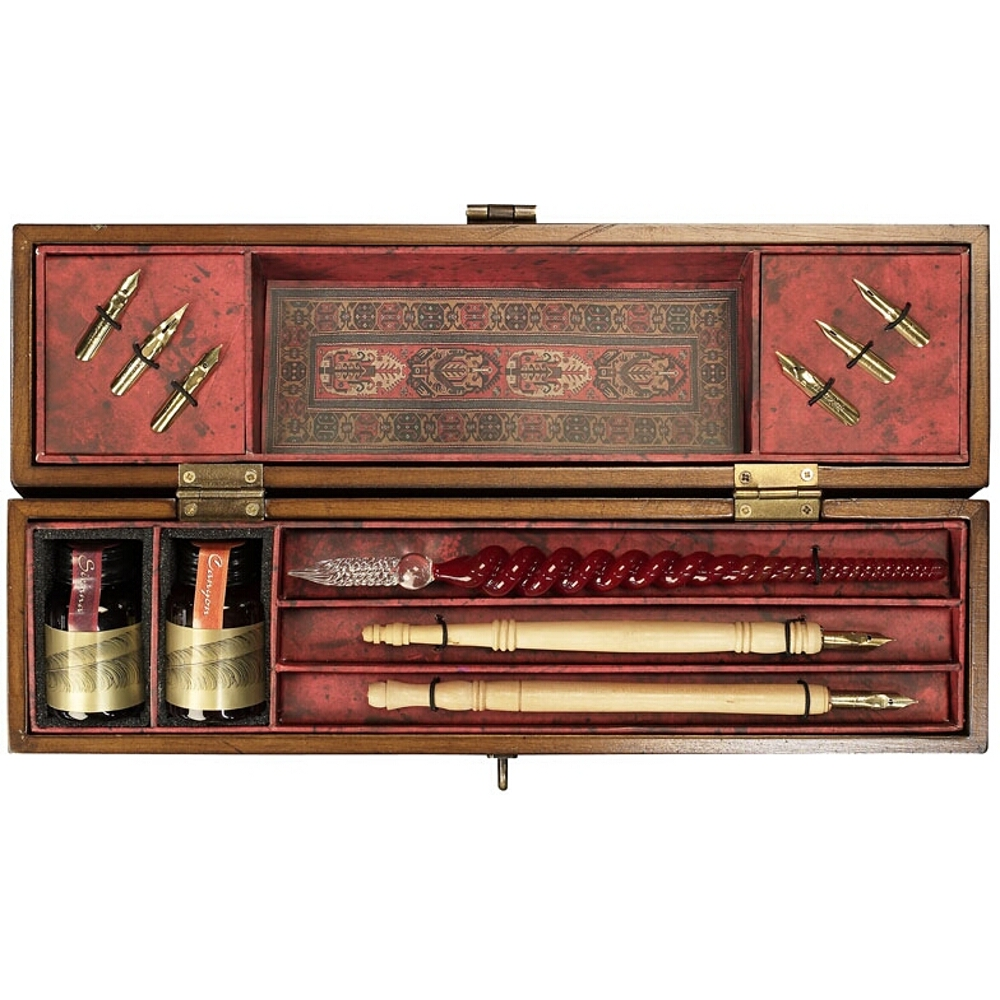 Authentic Models Windsor Prose Ink and Dip Pen Writing Set