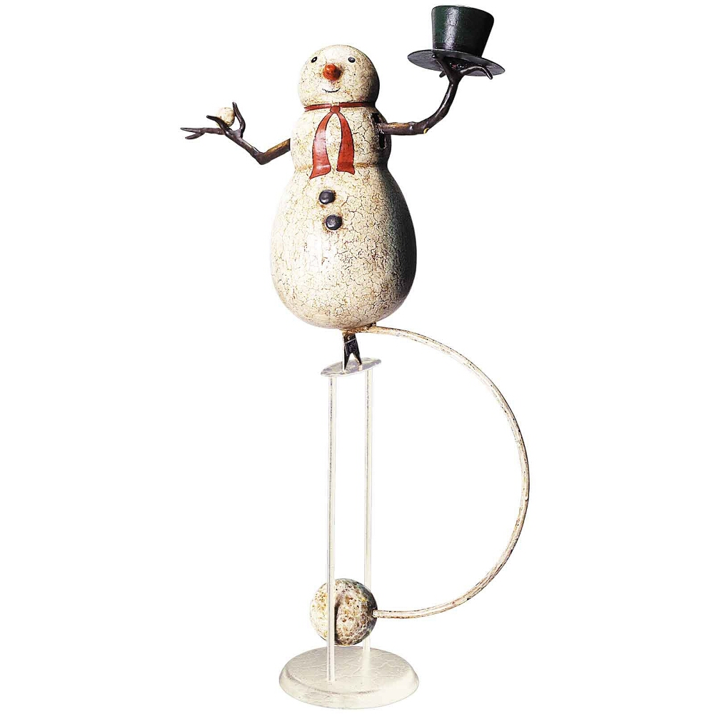 Authentic Models Holiday Themed Snowman Sky Hook