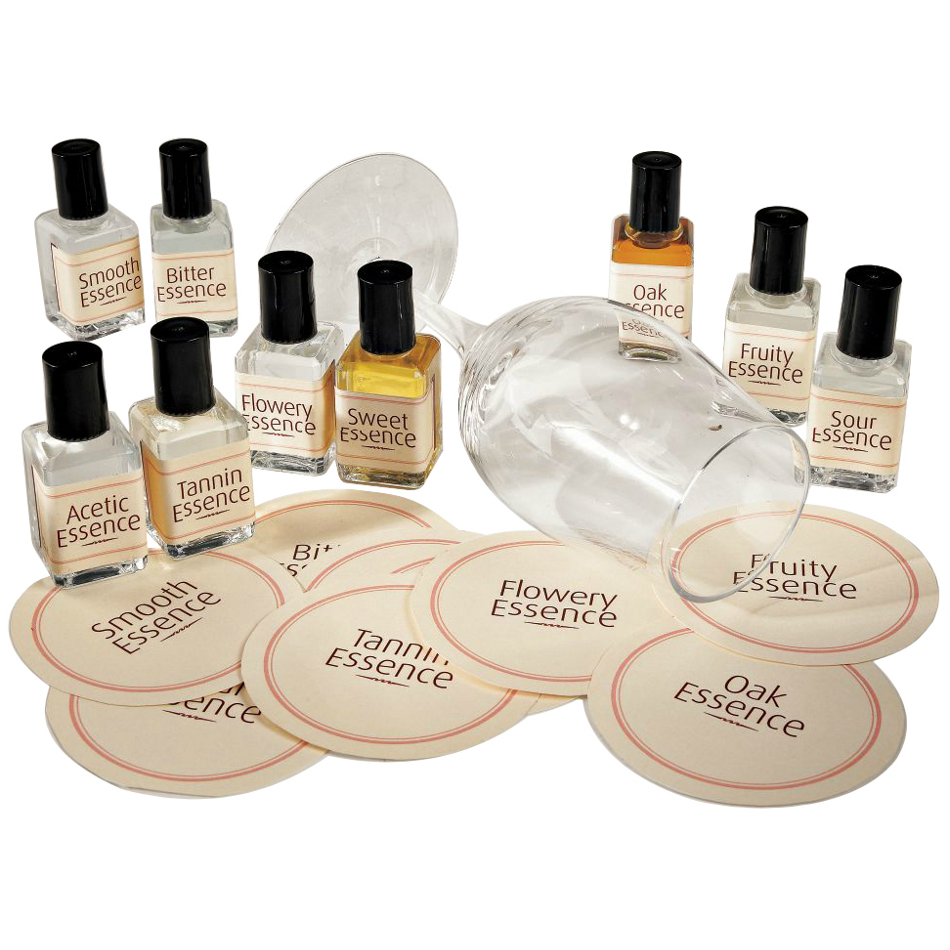 Wine Enthusiast Wine Essence Kit with 9 Essences
