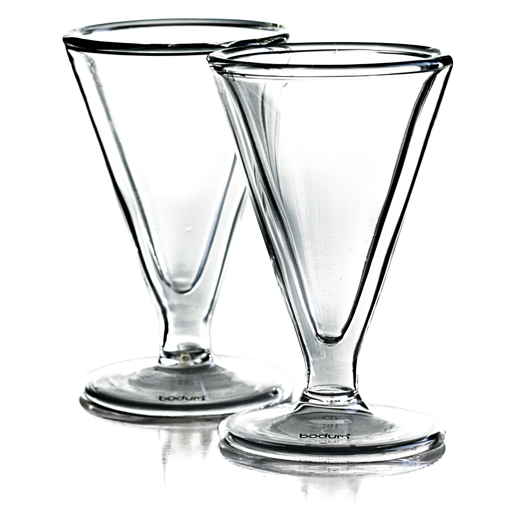 Bodum Manhattan Double Wall 1 Ounce Schnapps Glass, Set of 2