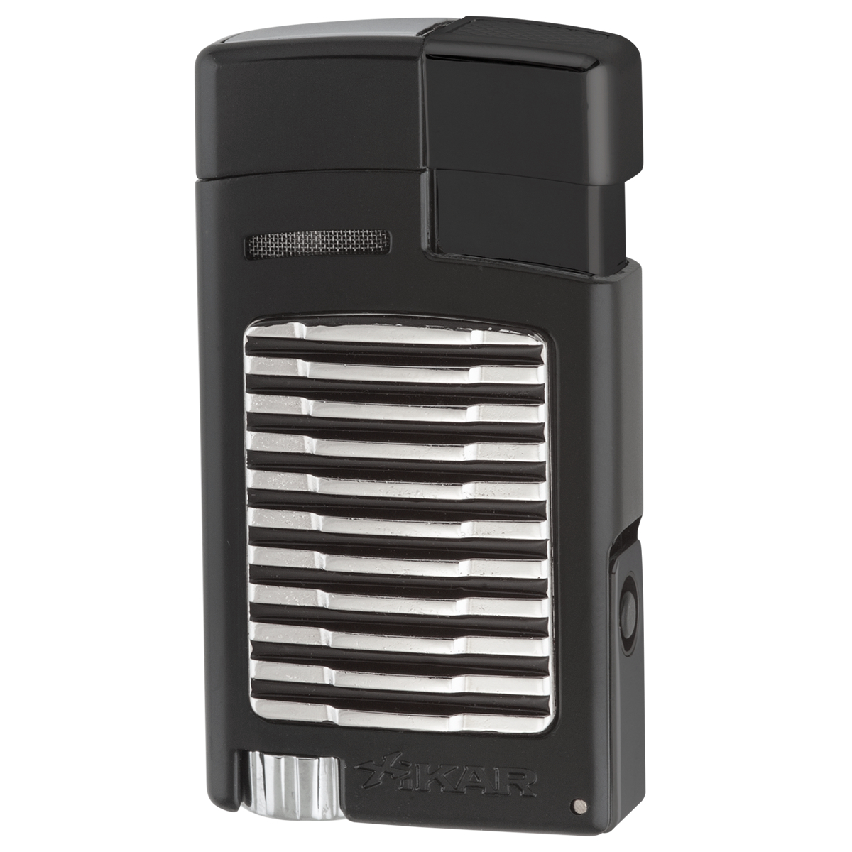 Xikar Forte Black Single Jet Lighter