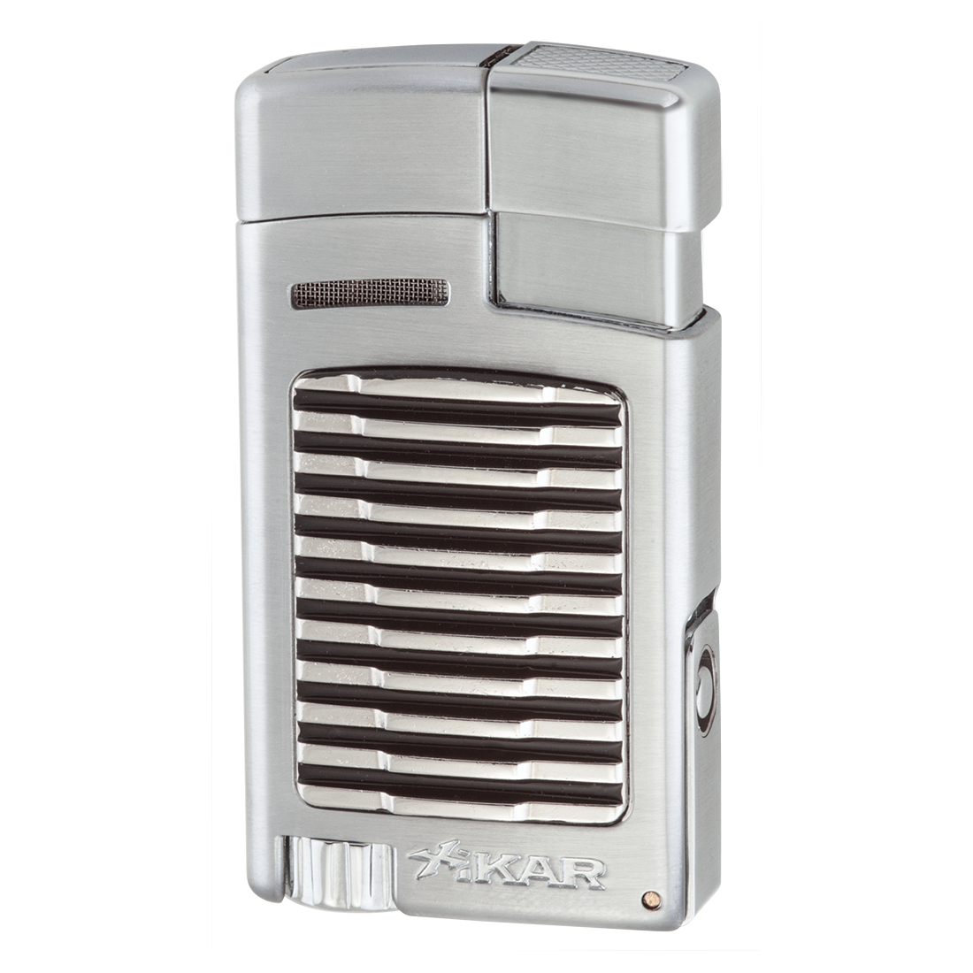 Xikar Forte Silver Single Jet Lighter