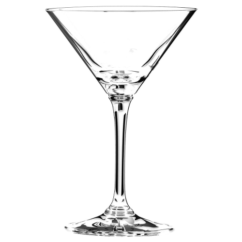 Riedel Vinum Leaded Crystal Martini Glass, Set of 4