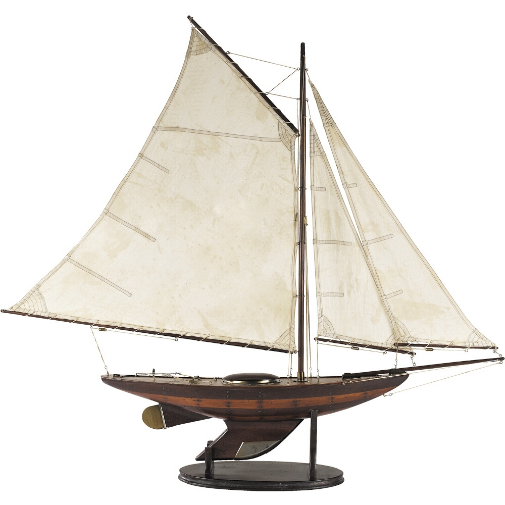 Authentic Models Ironsides Yacht Model, Small