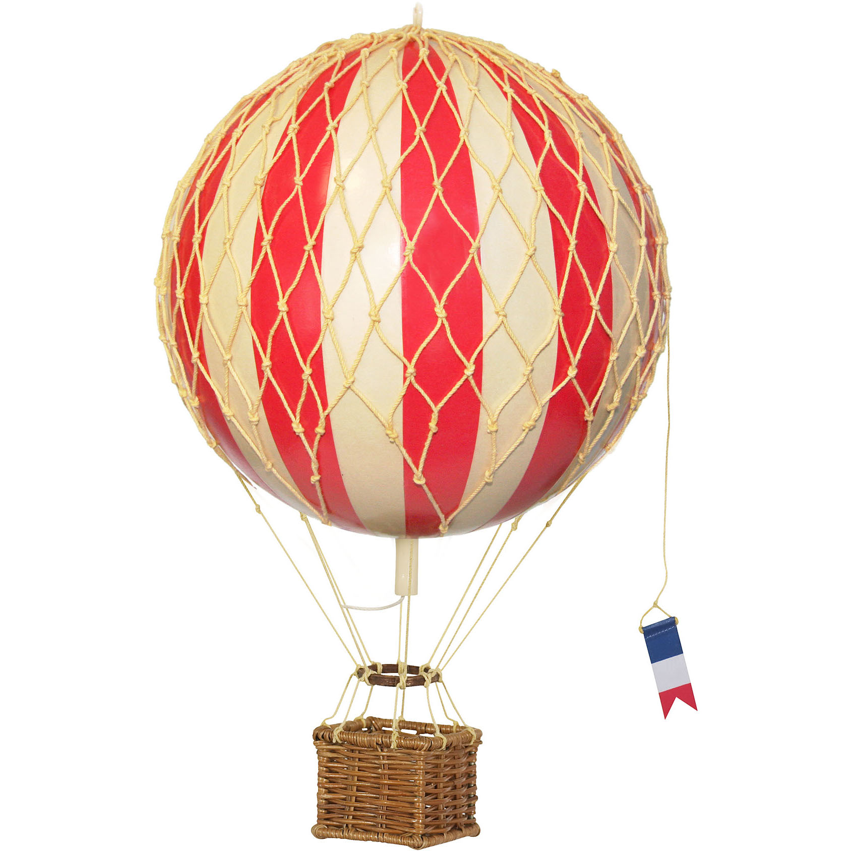 Authentic Models Jules Verne Red Striped Balloon