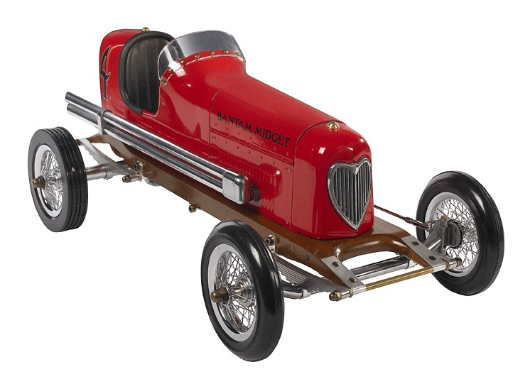 Authentic Models Red Bantam Midget Racer