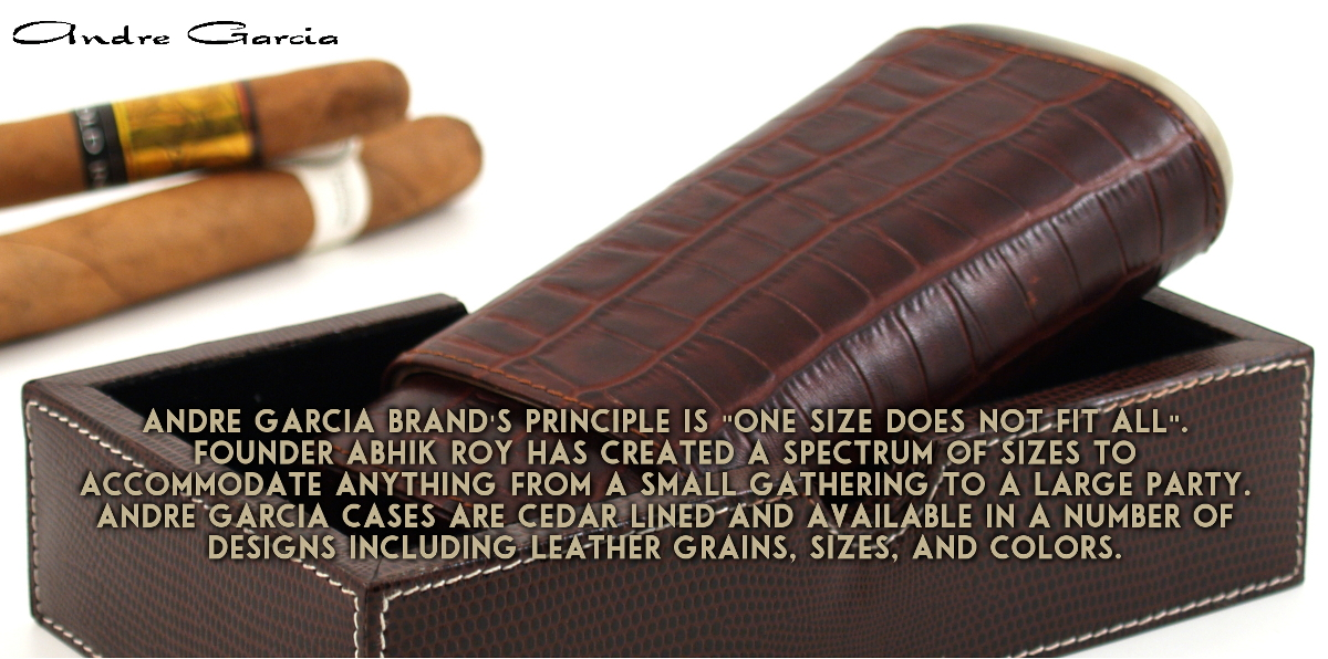 Andre Garcia Cigar Cases