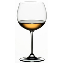 Riedel Vinum XL Leaded Crystal Oaked Chardonnay Wine Glass, Set of 2