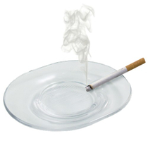 Riedel Virgina Crystal Cigarette Ashtray