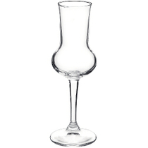Bormioli Rocco Riserva Crystal Glass Grappa Drinking Glass, Set of 6
