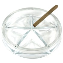 Innovator Texas Star Glass 5 Cigar Ashtray