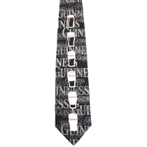 GUINNESS Official BeerLogo Men's Necktie