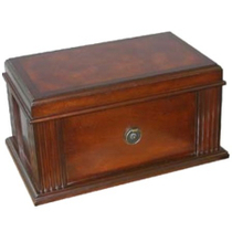 Parisian Vintage Antique Look Cigar Humidor