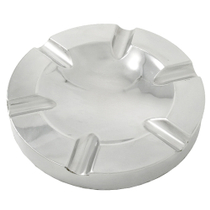 Round Boardroom Six Cigar Aluminum Ashtray