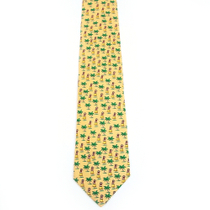 Alynn Tropical Hula Dancers Silk Necktie