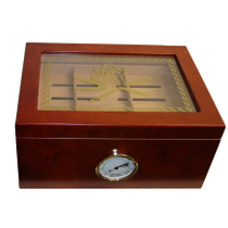 Smoking Cigars Window Top Huge Cherry Cigar Humidor