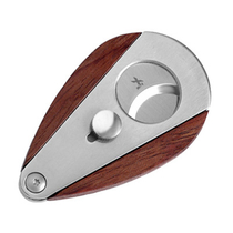Xikar Xi3 Redwood Stainless Steel Double Blade Cigar Cutter