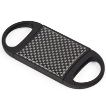 Carbon Fiber Double Guillotine Accu-Cut Cigar Cutter