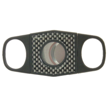 Carbon Fiber Double Guillotine Ultra-Premium Cigar Cutter
