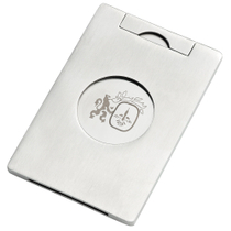 Colibri Satin Silver Single Blade Cigar Cutter