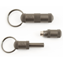Vector Light Gunmetal Heavy Metal Cigar Punch Key Ring