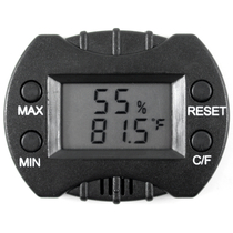 The Smallest Digital Hygrometer for Humidor with Temperature