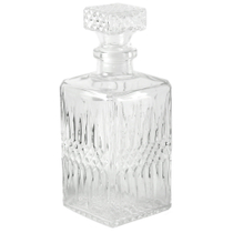 Luminarc Crystal Cut Glass Diamant Liquor Decanter