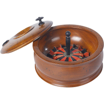 Authentic Models Wooden Travel Size Roulette Wheel