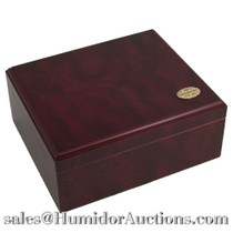 Cherry Finish 50 Count Cigar Humidor