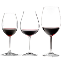 Riedel Vinum XL Leaded Crystal 3 Piece Red Wine Tasting Glass Set
