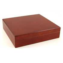 Prestige Dark Burl Travel 15-20 Count Cigar Humidor