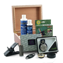 Colibri PGA Golf Cigar Humidor 11 Piece Gift Set Collection