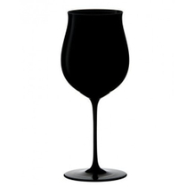 Riedel Sommeliers Black Burgundy Grand Cru Wine Glass, 37 Ounce