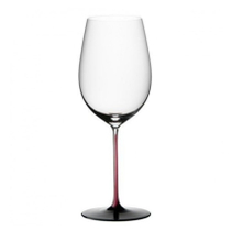 Riedel Sommeliers R-Black Series Leaded Crystal Bordeaux Grand Cru Wine Glass