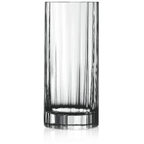 Luigi Bormioli Bach Crystal 16.25 Ounce Tumbler Glass, Set of 4