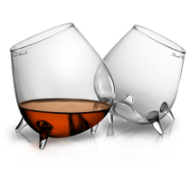 Final Touch Relax Cognac Glass, Set of 2