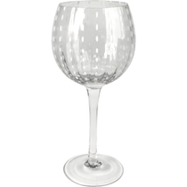 Artland Cambria Clear Goblet Wine Glass, 18 Ounce