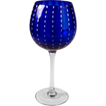 Artland Cambria Cobalt Goblet Wine Glass, 18 Ounce