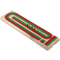 Gatogi Wooden 2 Track Cribbage Game
