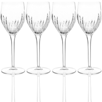 Luigi Bormioli Incanto 9.25 Ounce White Wine Glass, Set of 4