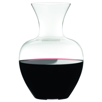 Riedel Lead-Free Crystal Apple Decanter, 50.7 Ounce
