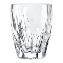 Nachtmann Sphere Non-leaded Crystal 4.4 Inch Double Old Fashion Whisky Glass, Set of 4