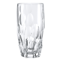Nachtmann Sphere Non-leaded Crystal 6 Inch Longdrink Glass, Set of 4