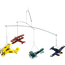 Authentic Models Flight Mobile with 1920's Vintage Airplanes