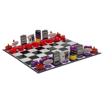 Las Vegas Chess Set  Board Game  Chips Dice