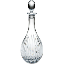 Reed and Barton Soho Leaded Crystal Wine Decanter