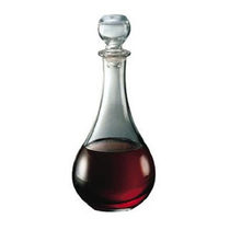 Bormioli Rocco Loto Glass Wine Decanter With Stopper